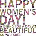 Happy International Women's jour 💄👠💎💐