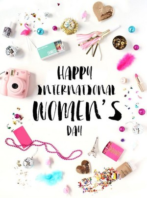 Happy International Women's dag 💄👠💎💐