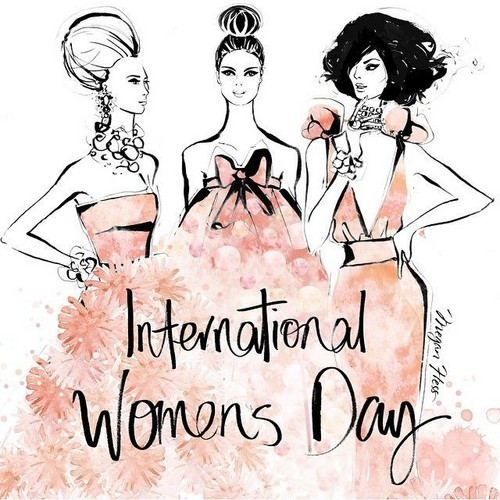 jlhfan624 achtergrond titled Happy International Women's dag 💄👠💎💐