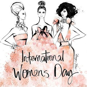 Happy International Women's hari 💄👠💎💐