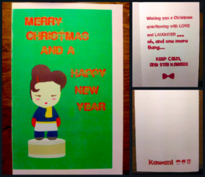 Harajuku Lovers Christmas Card