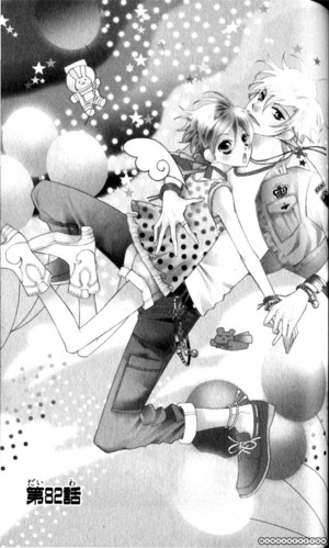 Haruhi x Tamaki mangá art