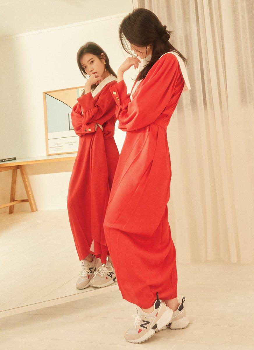 IU for Dazed Korea (March Issue) x New Balance