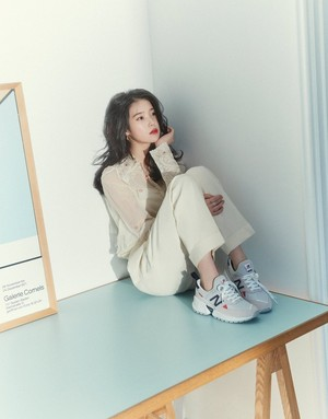 아이유 for Dazed Korea (March Issue) x New Balance