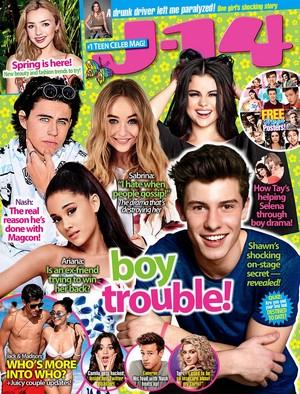 J-14 Magazine Cover