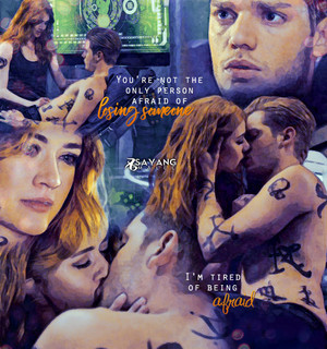 Jace/Clary Fanart - I Am Tired Of Being Afraid