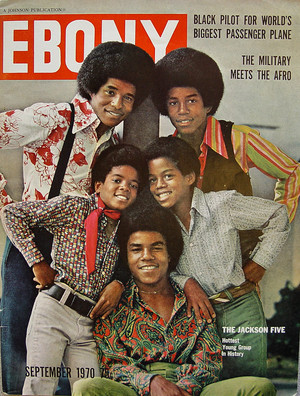 Jackson 5 On The Cover Of Ebony