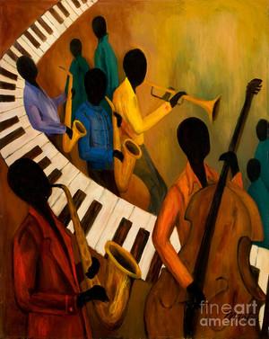 Nostalgia Jazz Band - Ktchenor Fan Art (42654432) - Fanpop