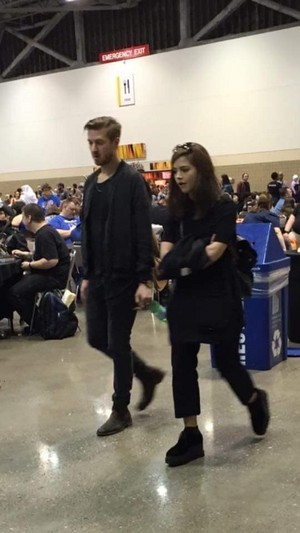 Jenna Coleman and Arthur Darvill/ Comic-Con