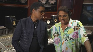 Johnny Mathis And Babyface In The Recording Studio
