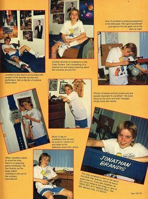 Jonathan Brandis Magazine