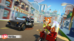 Judy and Nick in Disney Infinity