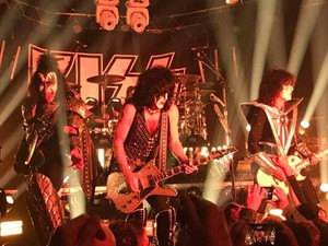 KISS ~West Hollywood, California...February 11, 2019 (Special performance at Whiskey A Go Go)