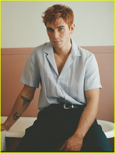 Riverdale (2017 TV series) fond d'écran entitled KJ Apa on the cover of ASOS Magazine's Spring 2019 issue