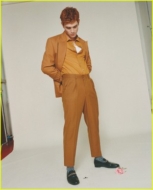 KJ Apa on the cover of ASOS Magazine's Spring 2019 issue