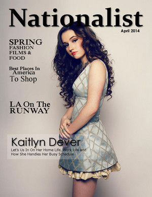 Kaitlyn Dever - Nationalist Cover - 2014
