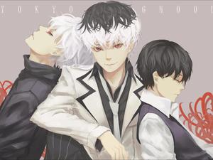 Kaneki x Kaneki x Kaneki