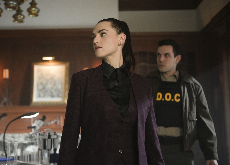 Katie McGrath in Supergirl