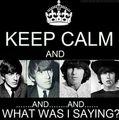 Keep Calm And Uh.....?😍 - george-harrison fan art