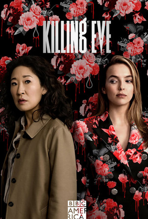 Killing Eve - Season 2 Poster - Floral