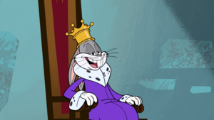 King Bugs Bunny - The Wabbit Who Would Be King