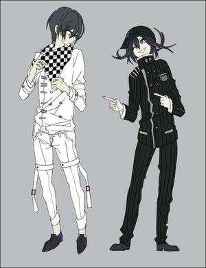 Kokichi Ouma and Shuichi Saihara | Danganronpa