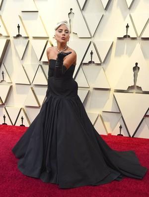 Lady Gaga 2019 Oscars red carpet