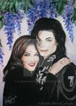 Lisa Marie And Michael Jackson - lisa-marie-presley fan art