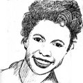 Lorraine Hansberry - celebrities-who-died-young fan art