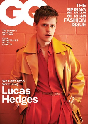Lucas Hedges - GQ Cover - 2019
