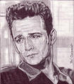 Luke Perry - celebrities-who-died-young fan art