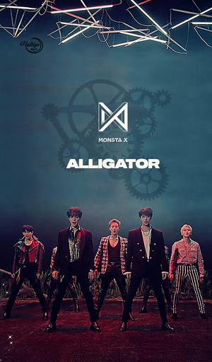 MONSTA X ALLIGATOR #LOCKSCREEN