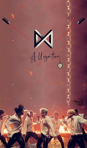 MONSTA X ALLIGATOR 02 #LOCKSCREEN