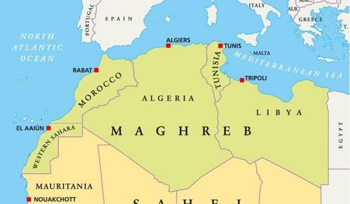 Africa Hintergrund called Maghreb