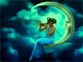 Magical Moon Fairy - fantasy wallpaper