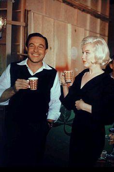 Marilyn Monroe and Gene Kelly