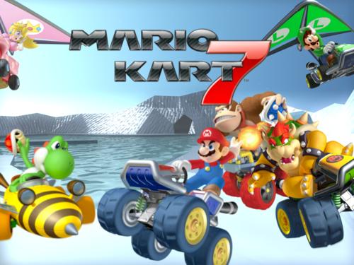 Mario Kart wallpaper entitled Mario Kart 7