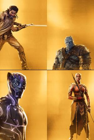 Marvel Studios 10th Anniversary posters