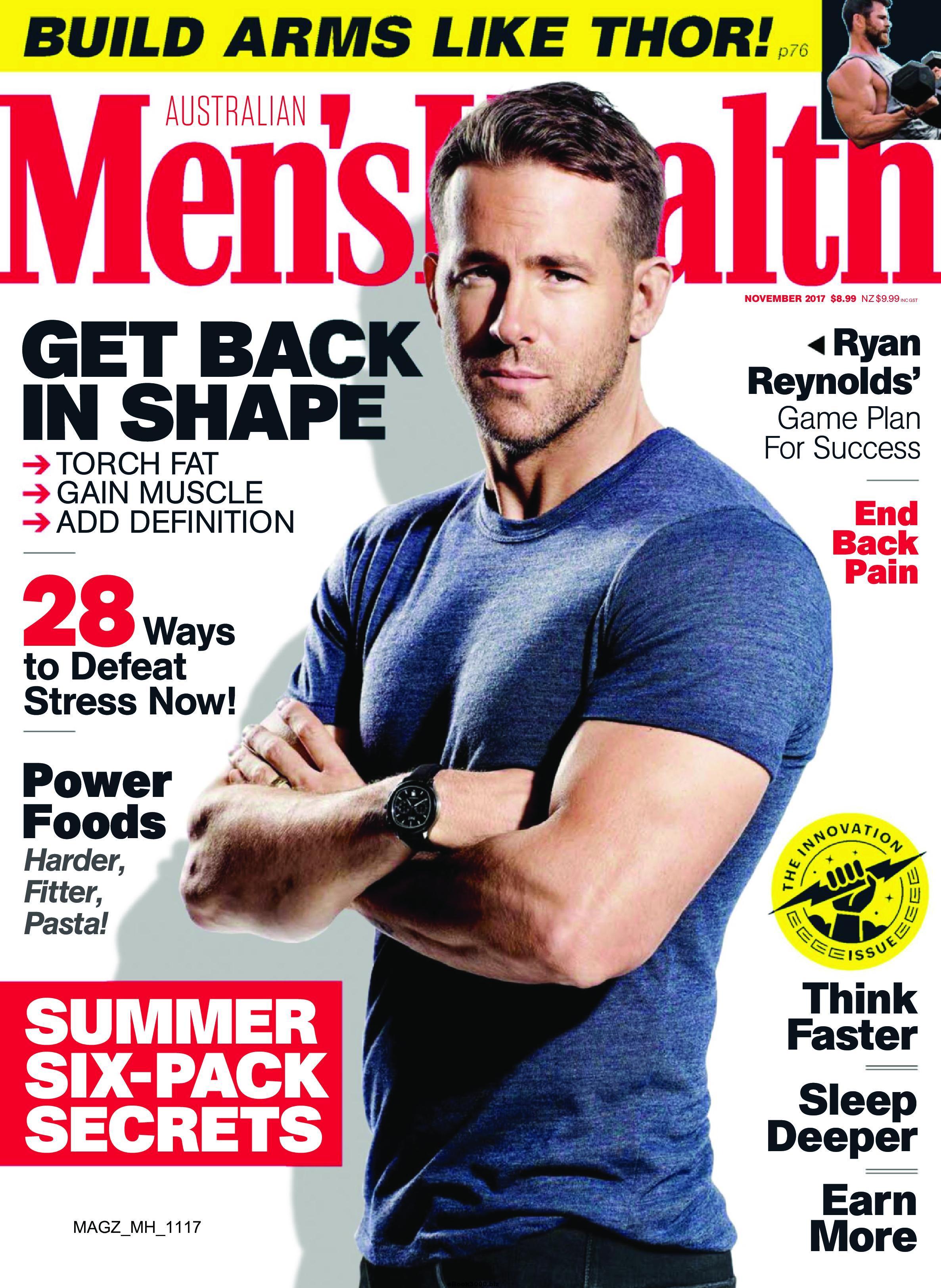 Men S Health Magazine Cover Magazines Foto 42654599 Fanpop