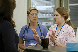 Merritt Wever as Zoey Barkow in Nurse Jackie