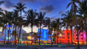 Miami South beach, pwani