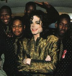 Michael And Boyz II Men