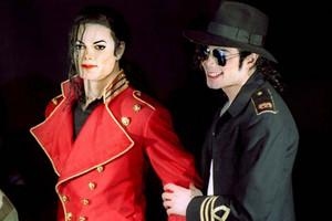Michael Jackson Wax Statue