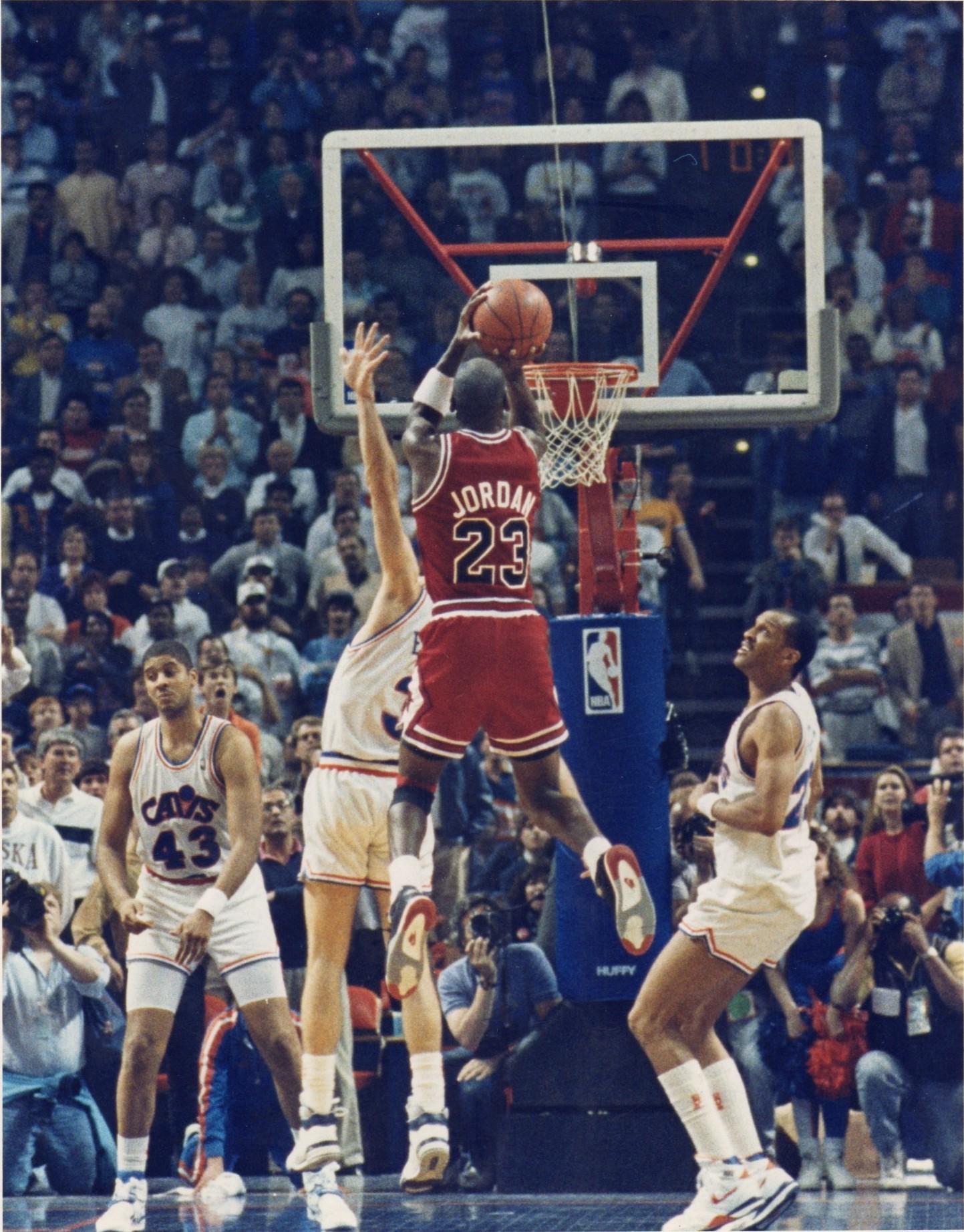 Shot - Game 5 1989 Eastern Conference
