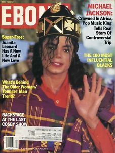 Michael On The Cover Of Ebony