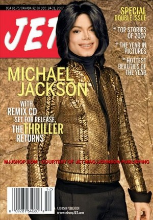 Michael On The Cover Of Jet