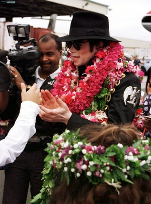 Michael On Tour In Hawaii