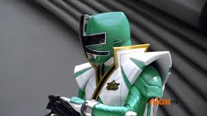 Mike Morphed As The Green Samurai and Super Samurai Ranger