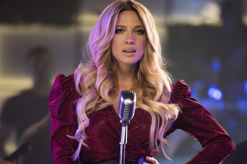 """Milica Todorović on set of """"Ista Ja"""""""