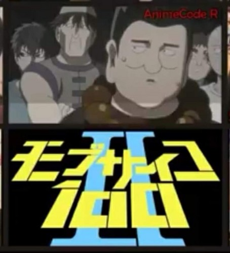 Saitama (One schlagen, punsch Man) Hintergrund called Mob Pyscho 100 One schlagen, punsch Man